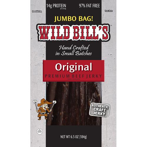 Wild Bill's Hickory Smoked Beef Jerky Packs - 6.5oz