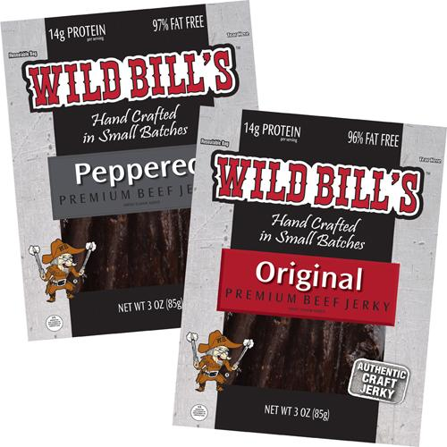 Mix & Save - Wild Bill's 3oz Beef Jerky Packs